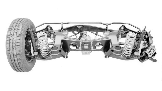 Mercedes W 201, Fahrwerk