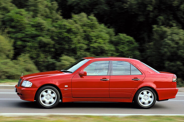 mercedes c-klasse (w202, s202) technische daten - auto motor und sport