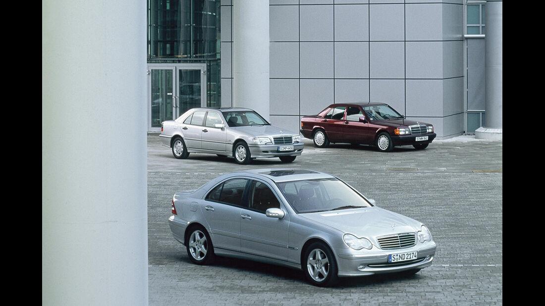 Mercedes W 203, W 202, W201