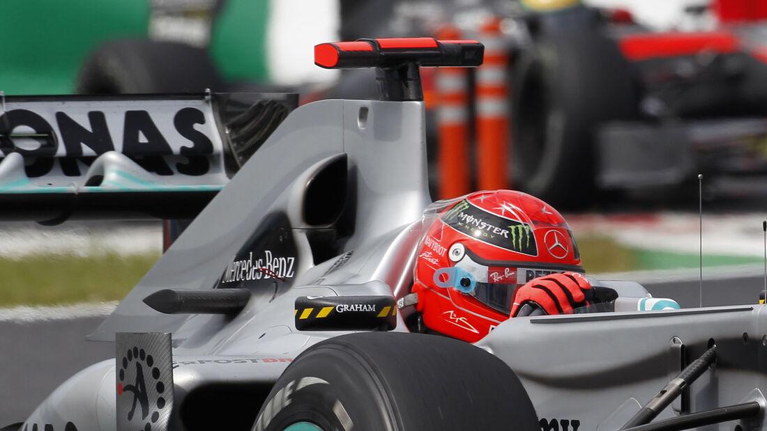 Mercedes W01 - F1 2010