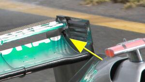 Mercedes W03 2012