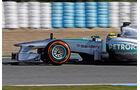 Mercedes W04 Nase F1 Jerez 2013