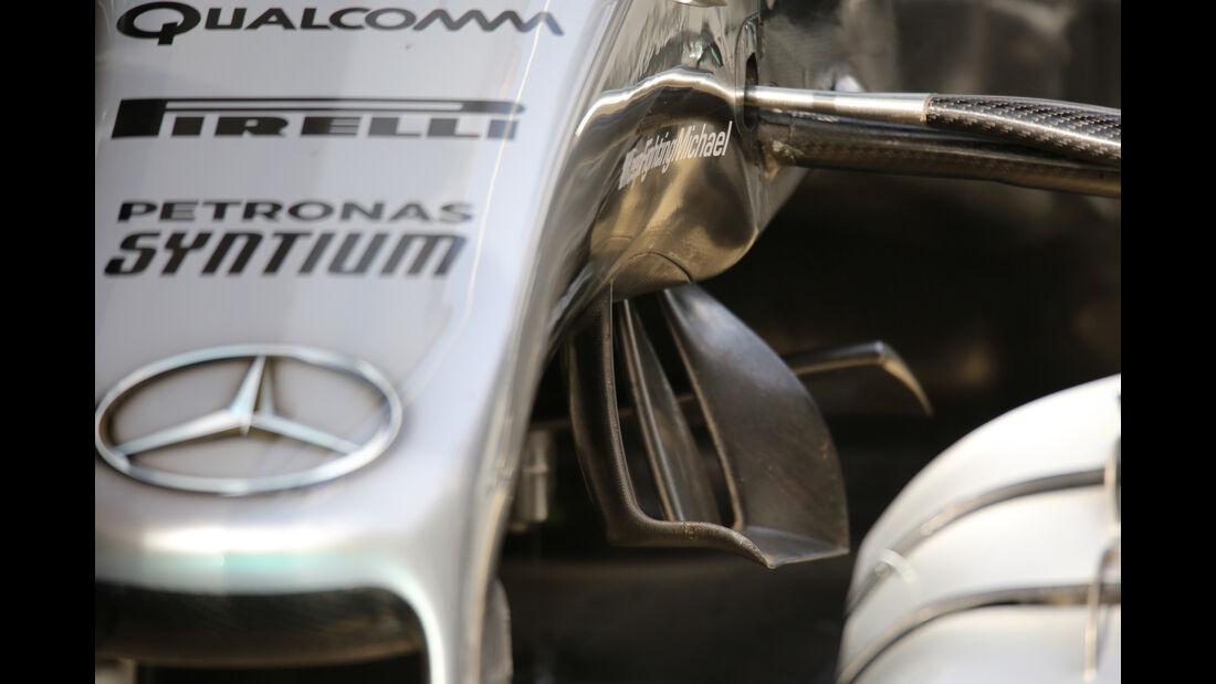 Mercedes W07 - Barcelona F1-Test 2016
