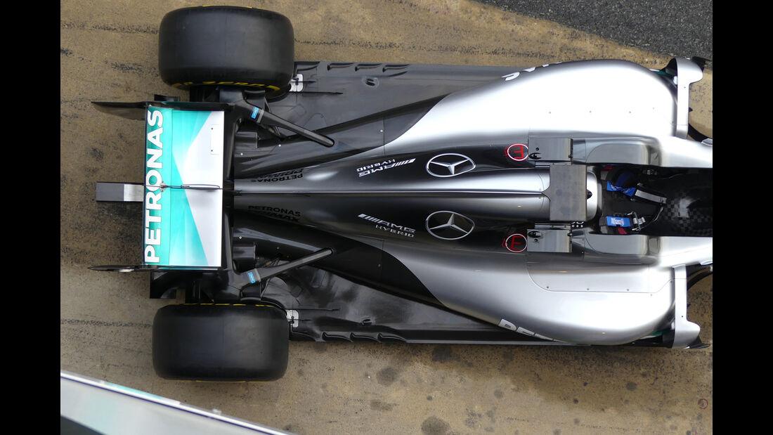 Mercedes W07 -Technik - 2016