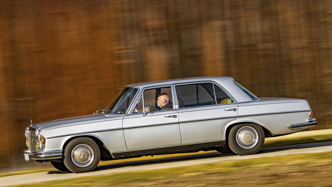 Mercedes W109 300 SEL 3.5, Exterieur