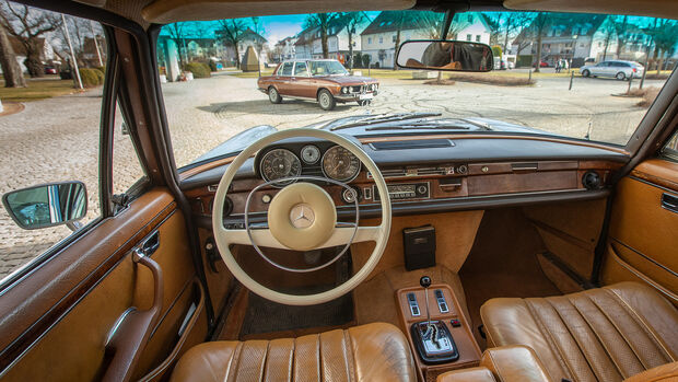 Mercedes W109 300 SEL 3.5, Interieur