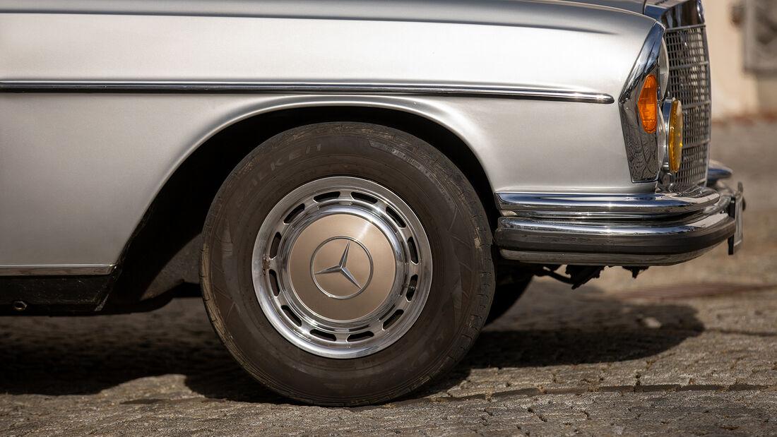 Mercedes W109 300 SEL 3.5, Rad