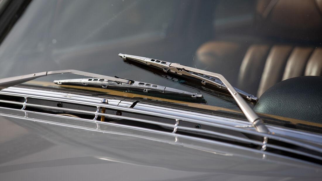 Mercedes W109 300 SEL 3.5, Scheibenwischer