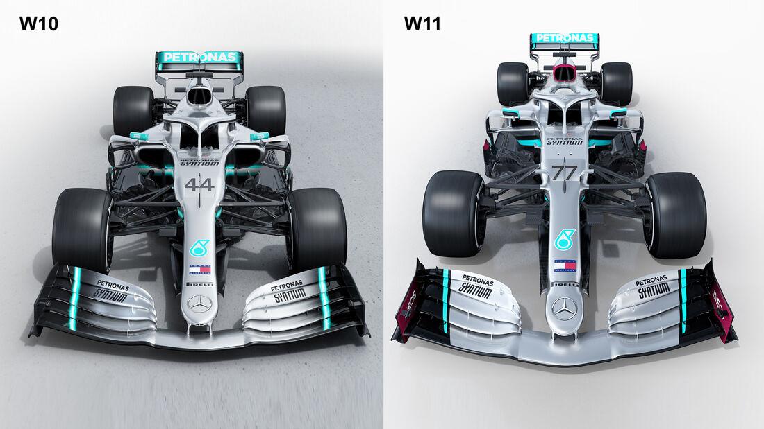 Mercedes W11 - F1-Auto 2020