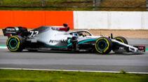 Mercedes W11 - Shakedown Silverstone - F1-Auto 2020