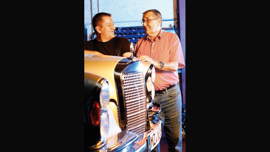 Mercedes W111 Coupé und Cabrio, Markus und Walter Ousch