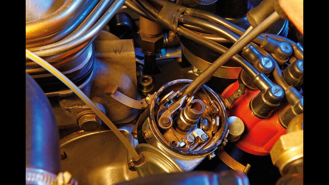Mercedes W111 Coupé und Cabrio, Zündung