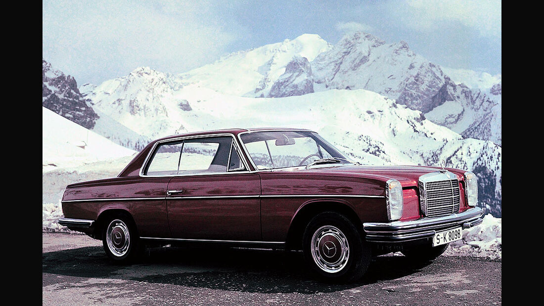 Mercedes W114, Strichachtcoupe