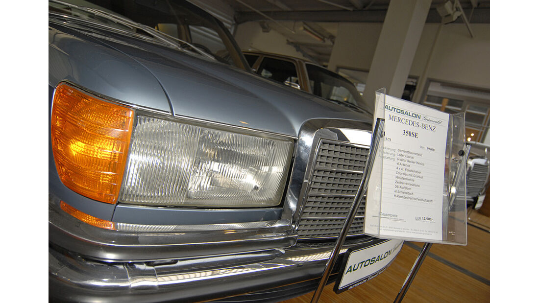 Mercedes W116 Scheinwerfer