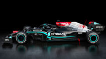 Mercedes  W12 - Formel 1 - Technik - 2021
