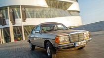 Mercedes W123, Frontansicht