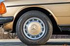 Mercedes W123, Rad, Felge
