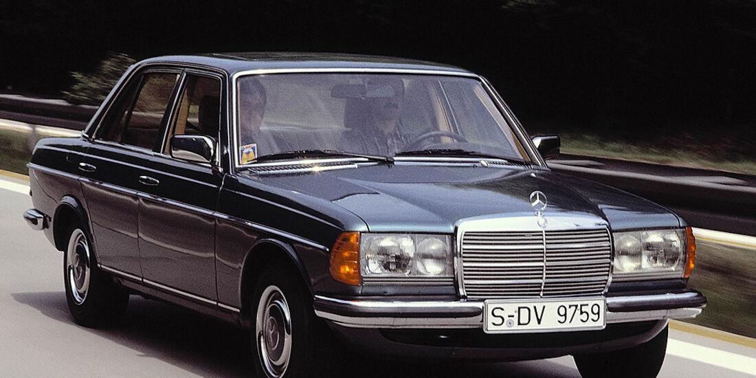 Mercedes, W123, Sechszylinder