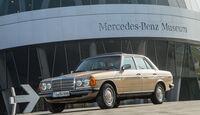 Mercedes W123, Seitenansicht