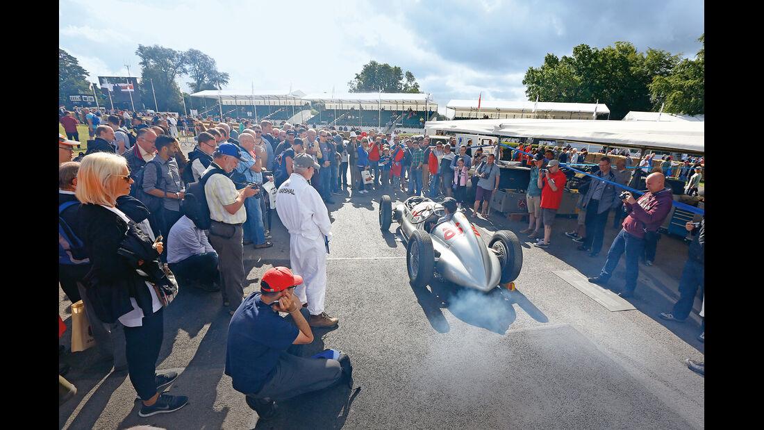 Mercedes W125, Zuschauer, Goodwood