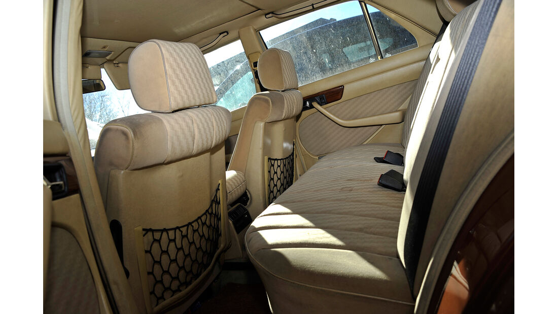 Mercedes W126, 6 Zylinder, Interieur