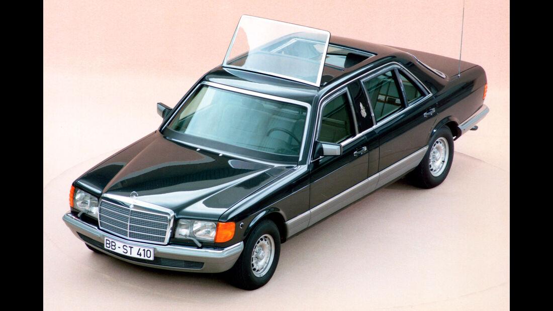Mercedes W126 Sonderschutz Papst