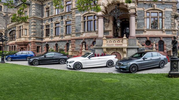 Mercedes W205 Versionen Limousine T-Modell Coupe Cabrio