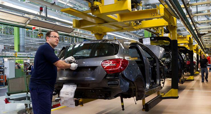Mercedes Werk Rastatt