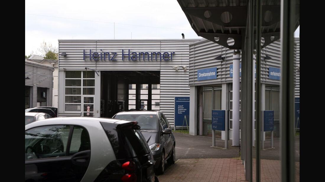 Mercedes-Werkstatt, Autohaus Heinz Hammer