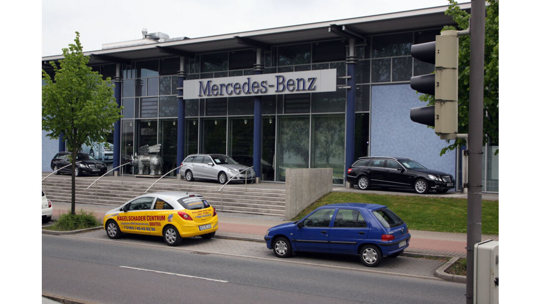Mercedes-Werkstatt, Mercedes-Niederlassung Dortmund