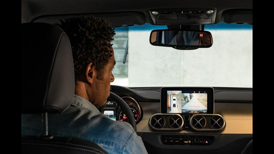Mercedes X-Klasse 360-Grad-Kamera