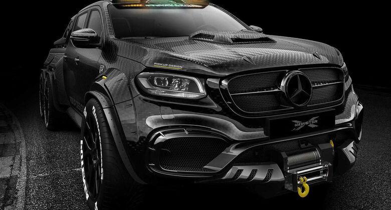 Mercedes X-Klasse 6x6 Designstudie Carlex