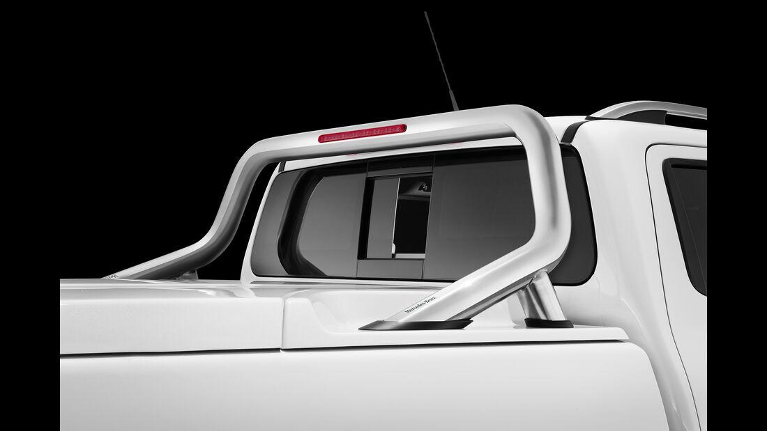 Mercedes X-Klasse Elektrisches Heckfenster und Styling Bar