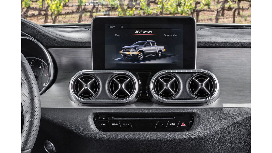 Mercedes X-Klasse Fahrbericht Oktober 2017