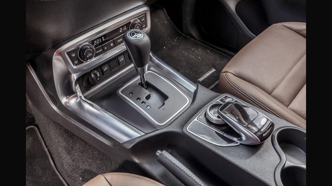 Mercedes X-Klasse Interieur