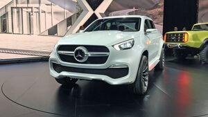 Mercedes X-Klasse Konzept Weltpremiere Stockholm 2016