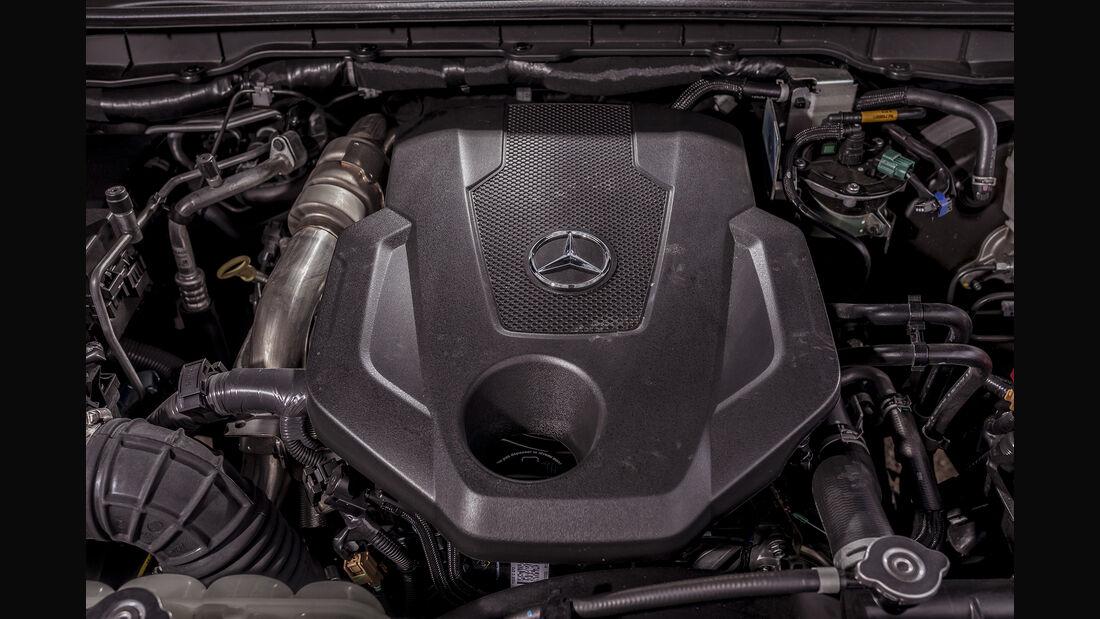 Mercedes X-Klasse Motor