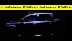 Mercedes X-Klasse Pickup Teaser