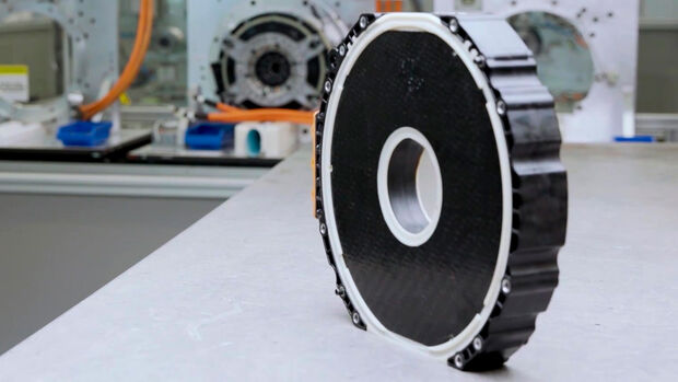 Mercedes Yasa Radial Flux Elektromotor