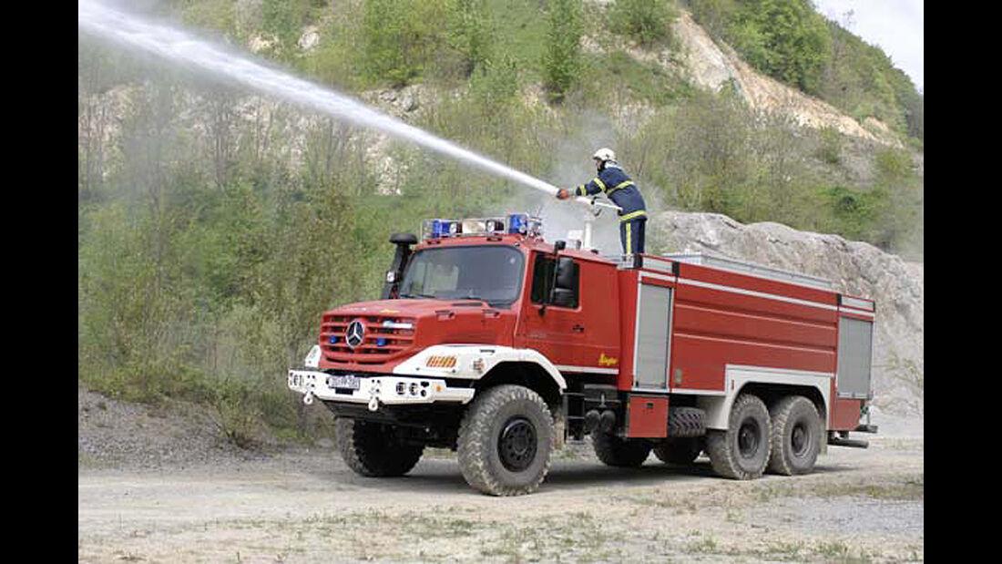 Mercedes Zetros 2733 A Tanklöschfahrzeug