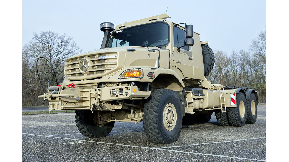 Mercedes Zetros 6x6 Militär