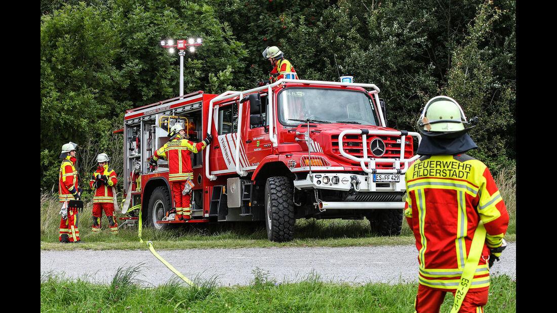 Mercedes Zetros Löschfahrzeug Paul Nutzfahrzeuge S-TLF Feuerwehr Filderstadt
