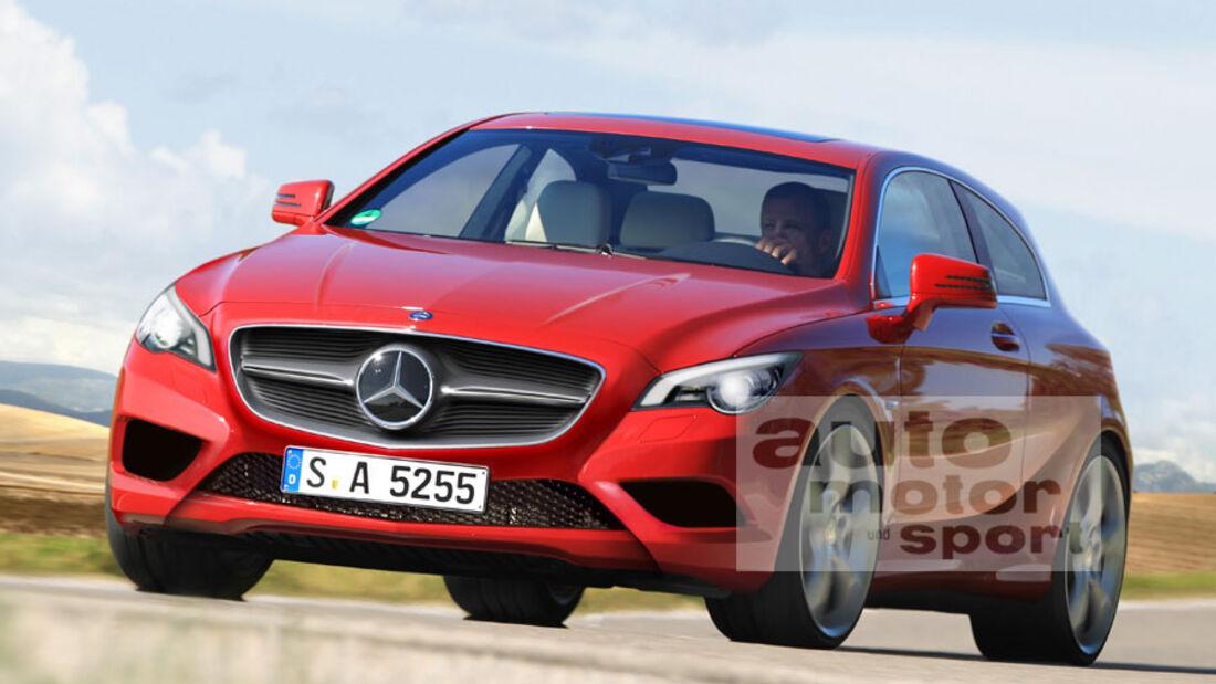 Mercedes-Zukunft, Mercedes-Neuheiten, Mercedes A-Klasse 2012