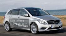 Mercedes-Zukunft, Mercedes-Neuheiten, Mercedes B-Klasse 2011