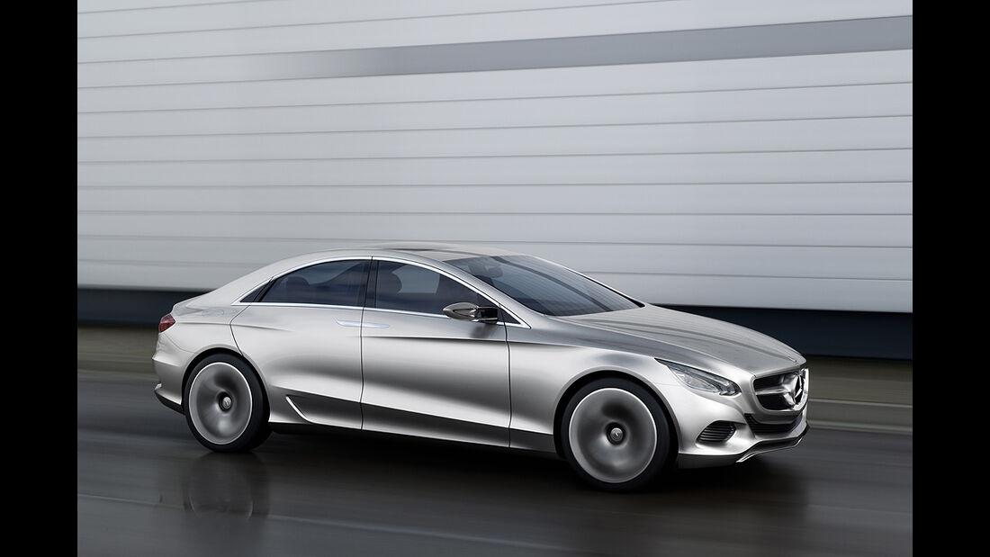 Mercedes-Zukunft, Mercedes-Neuheiten, Mercedes F800
