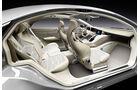 Mercedes-Zukunft, Mercedes-Neuheiten, Mercedes F800, Innenraum