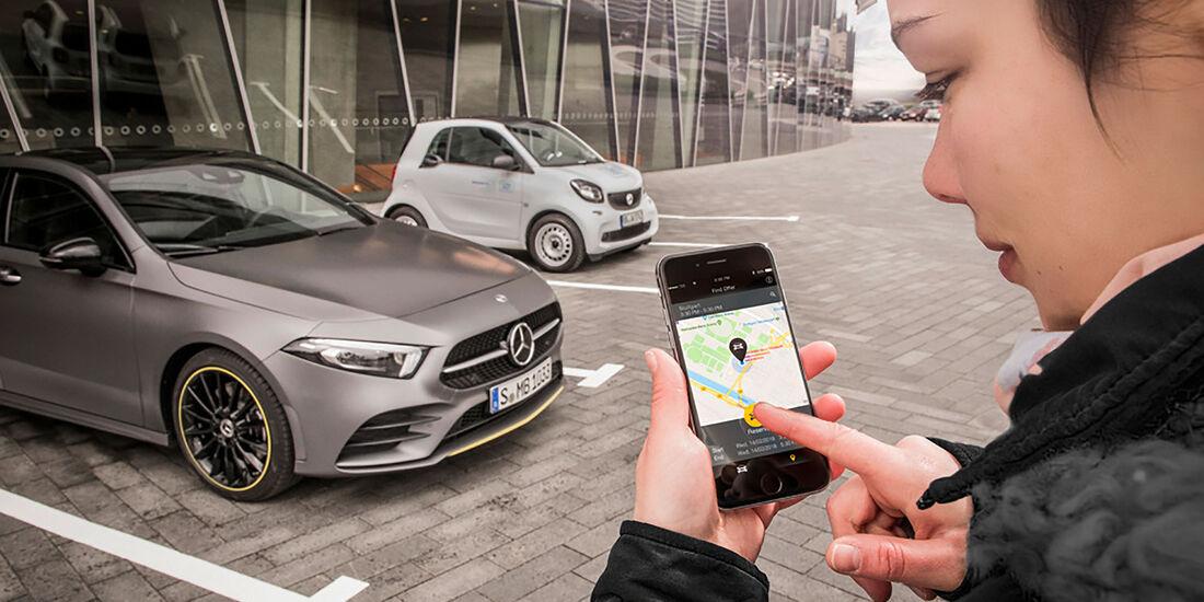 Mercedes digitaler Vertrieb