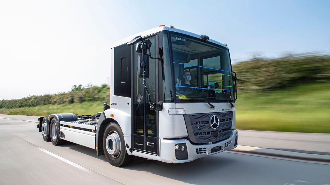 Mercedes eEconic Elektro-Lkw
