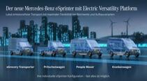 Mercedes eSprinter Electric Versatility Platform