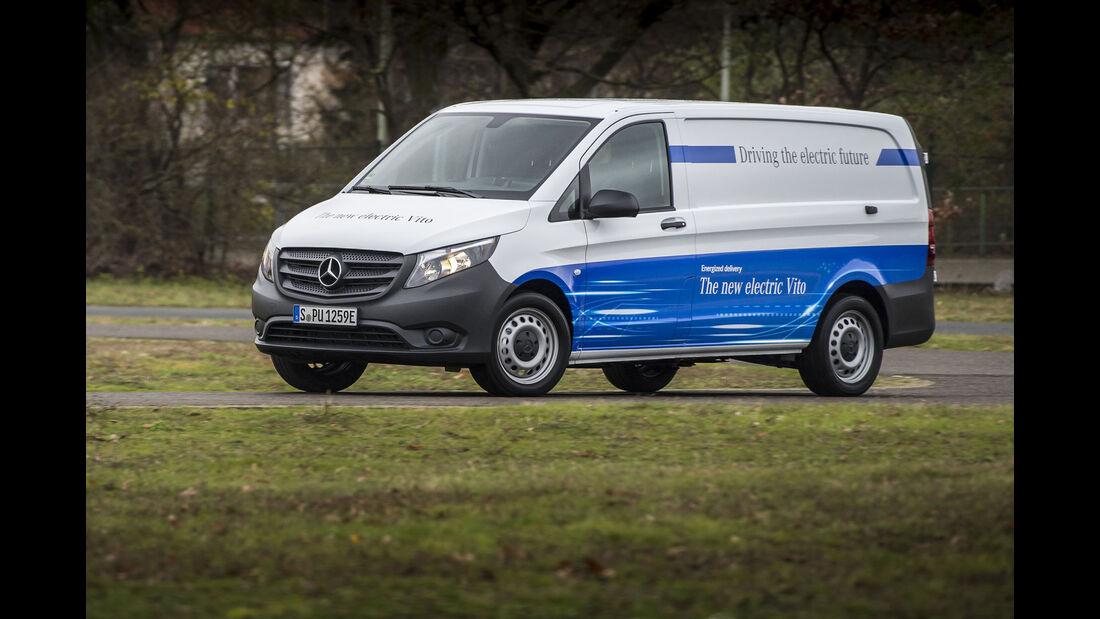 Mercedes eVito Fahrbericht 2017